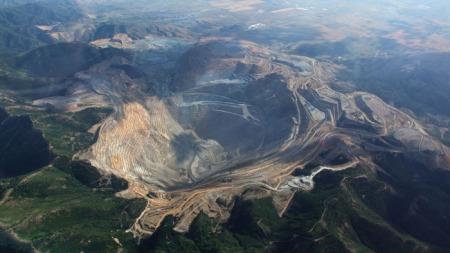 Mine de Bingman Canion aux Etats-Unis.